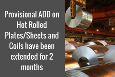 Provisional ADD on Hot Rolled Plates/Sheets and Coils..