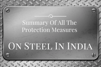 Summary Of Protection Measures On Steel In India
